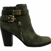 Guess Womens Gather Leather Closed Toe Ankle Fashion Boots Photo