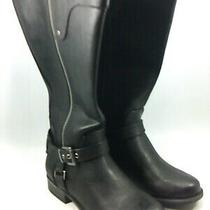 Guess Womens Harson 5 Closed Toe Knee High Fashion Boots Black Size 5.0 Zogf Photo