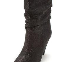 Guess Womens Nakitta Pointed Toe Mid-Calf Fashion Boots Black Size 7.0 Photo