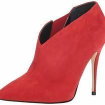 Guess Womens Ondrea Pointed Toe Ankle Fashion Boots Red Size 7.5 K2xn Photo