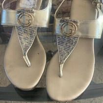 Guess Womens Platform High Heels Sandals Wedges Shoes Sz 6 New Photo