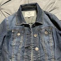 Guess Womens Size Xs Denim Jean Jacket Coat Photo