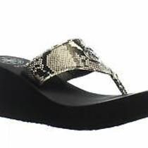 Guess Womens Solene Beige T-Strap Heels Size 8 (1437487) Photo