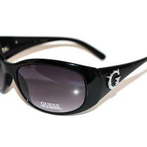 Guess Womens Sunglasses Gu 6389 Blk New W Pouch Photo