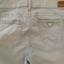 Guess Womens Taupe Jeans Nicole Boot Sz 6 (29) Low Rise Pants Photo