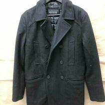 Guess Wool Coat Men's Size Small Photo
