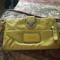 Guess Wristlet Bag Logo Clutch Pouch Handbag Wallet Genuine Photo