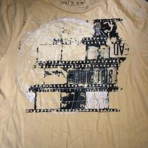 Guess Yellow Short Sleeve T Shirt Boys Size 20 Photo