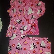 Gurls Pink Hello Kitty Sleep Wear Pajamas Size 8 Photo