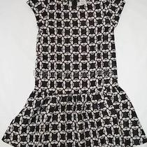Gymboree Blushing Swan 8 Jacquard Dress Black White New Photo