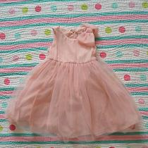 Gymboree Blushing Swan Fall Winetr Holiday Blush Pink Sparkle Tulle Dress 2t  Photo