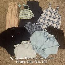 Gymboree Hilfiger Ralph Lauren Gap Tcp 9pc Girl 3/3t Tops Bottoms Dresses Hat Photo