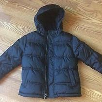 Gymboree North Pole Express Black Winter Coat Size 5-6  Photo
