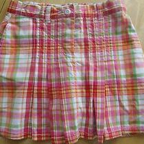 Gymboree Size 4 Years Summer Skirt Church Fall Cherry Baby School Plaid Sister Photo