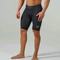 Gymshark Element Compression Shorts Mens Large Black Photo