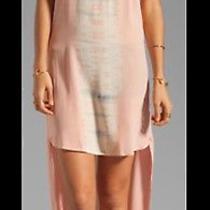 Gypsy 05 Emily Hi Lo Maxi Dress Camilla Silk Blush Ebony Sass Small 8 10 Bec May Photo