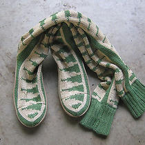 Gypsyz Piano Gypsy05 Cream/green Low Low Womens Size 9 Knitted Never Used Photo