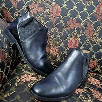 H by Hudson Ankle Boots Black  Leather  Size 38 Photo
