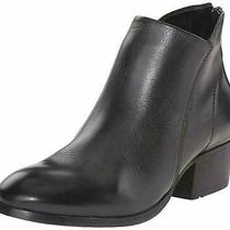 H by Hudson Black Leather Boots Apisi Ankle Zip Chelsea Boots Shoes 8 41 Photo