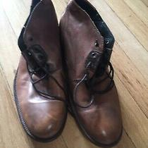 H by Hudson Leather Chukka Boots Men Size 42  Photo