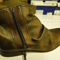 H by Hudson - Paul Calf  Mens Tan Side Zip Boots  Boots - High Quality Uk 12 Photo
