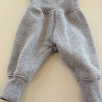 h&m Baby Cargo/harem/sweat Pants 0-6 Months Heather Grey Photo