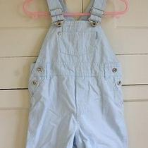 H & M Baby Overalls  Baby Blue  Baby Boy Dept. Us Size 6-9 M Eru 74  Photo