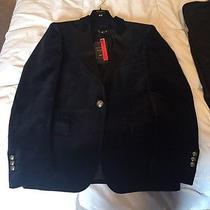 h&m Balmain Men's Black Velvet Jacket  Photo