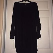 h&m Beautiful Black Sweater Dress Photo