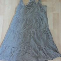 h&m Black and White Tiered Top Size Xs Photo