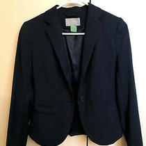 h&m Black Blazer Size 2 Euc Photo