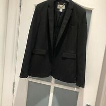 h&m Black Blazer Size 8 Photo