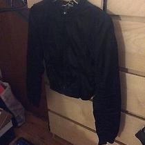 h&m Black Bomber Jacket  Photo