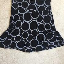 h&m Black/grey Skirt Size 38 Photo