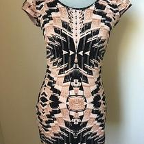 h&m Black/tan Dress Sz 6 Photo