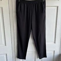 h&m Black Trousers Size Eur 38 Photo