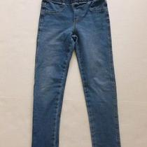 h&m Blue Stretchy Skinny Jean Girls Size 6-7y Photo
