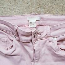 h&m Blush/dusty Pink  Skinny Jeans Eur 36 Photo