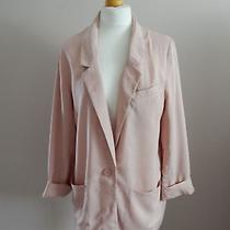 h&m - Blush Pink Blazer - Size 14 Photo