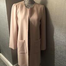 h&m Blush Pink Long Jacket Eur Size 38/uk 12 Photo