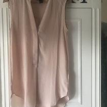 h&m Blush Pink v Neck Blouse Top Photo