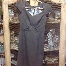 h&m Brown and Black Formal Work Dress Party Size 6 Photo