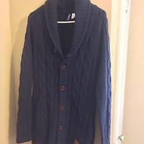 h&m Cable Knit Cardigan Size M Photo