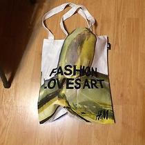h&m Canvas Bag (Fashion Loves Art) Photo