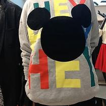 h&m Conscious Trend Divided Disney Mickey Mouse Sweatshirt Top Shirt Reversible Photo