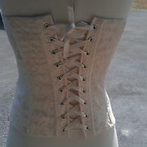 H & M Corset Cream Color Size 6 Photo