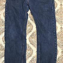 h&m Denim Men's Blue Jeans Size 34/32 Straight Regular Waist Button Fly Guys Photo