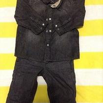 h&m Denim Outfit for Infant Boys Photo