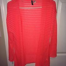 h&m (Divided Brand) Bright Color Open Front Cardigan  Photo