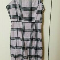 h&m Divided Women's Plaid Slip Dress in Violet and Black Size S Photo